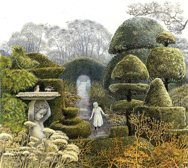 """""""The Secret Garden"""" illustrated by Inga Moore"""