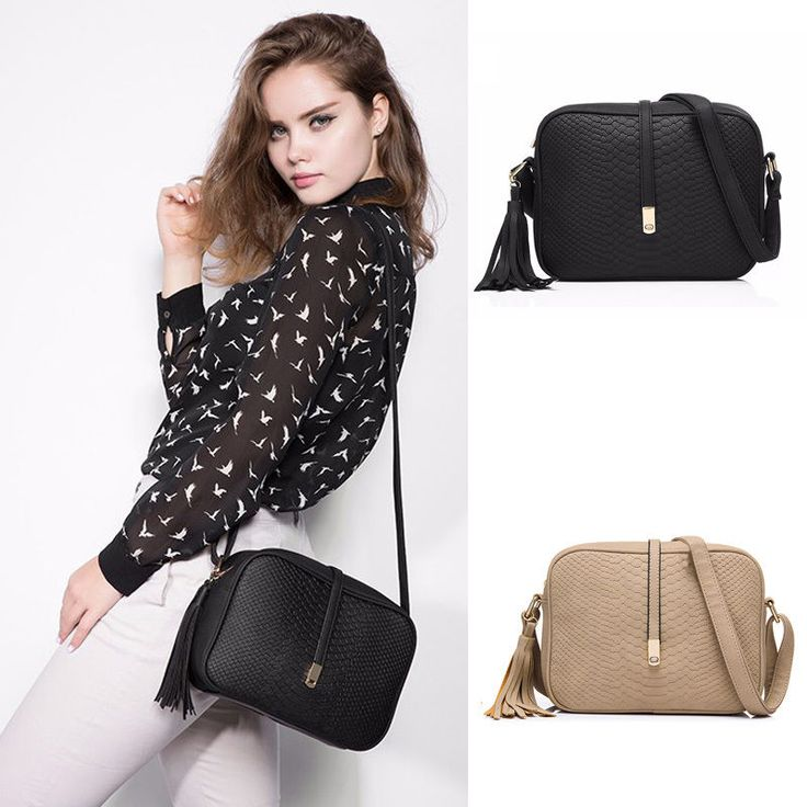 New Fashion Women Shoulder Messenger Crossbody Bag AA0678. Shoulder Strap Length (Max). With long shoulder strap. Item Material: PU leather. 3, The inner color might be slightly different from pictures for different batch productions. | eBay!