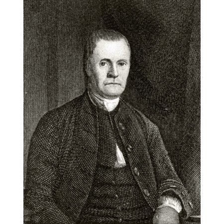 Roger Sherman 1721 To 1793 American Lawyer And Politician A Signatory Of Declaration Of Independence Engraved By S S Jocelyn From A Painting By Earle Canvas Art - Ken Welsh Design Pics (12 x 16)