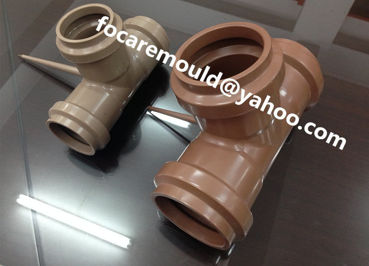 PVC molds collapsible for industrial fittings   #PVCmold #fittingmold #chinamold