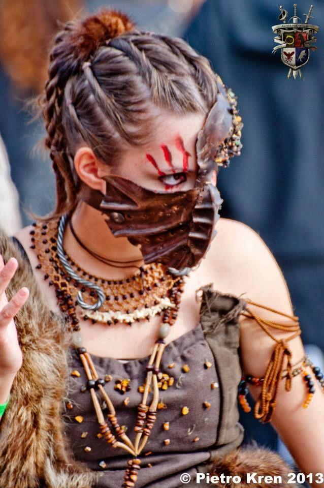 Face mask-Female Warrior