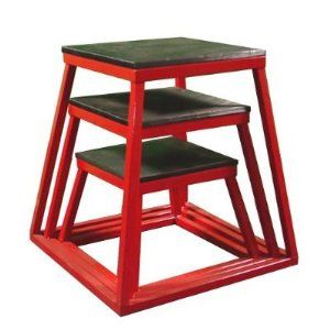 Red Plyometric Platform Box Red) Best Buy in 2015  sc 1 st  Pinterest : gym step stool - islam-shia.org