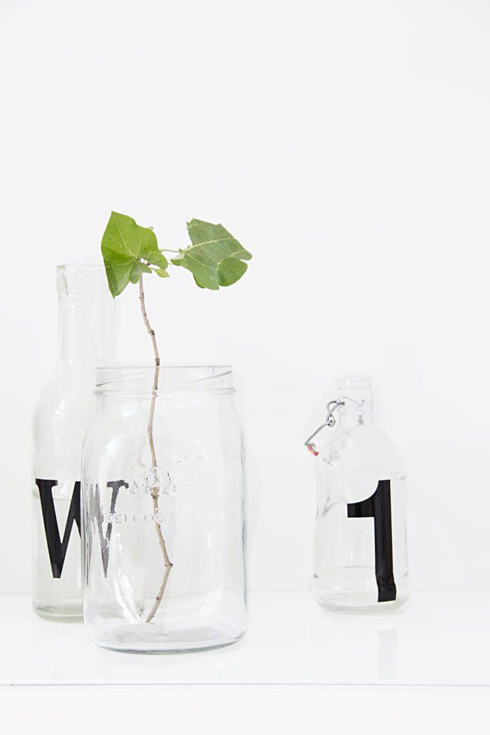 DIY letterbottles Photo | Marja Wickman