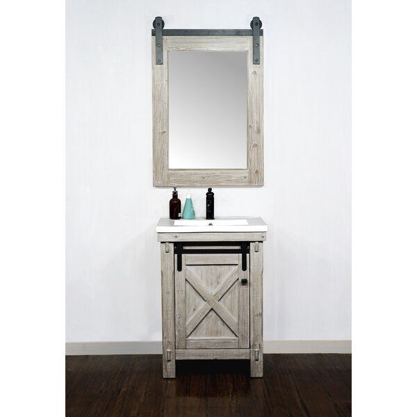 Silesia 24 Single Bathroom Vanity Set In 2020 Single Bathroom Vanity Bathroom Vanity Vanity