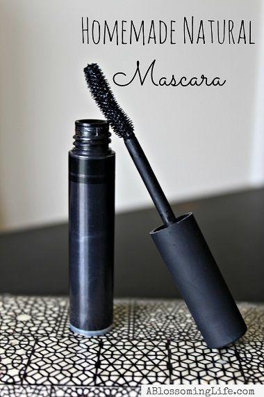 How To Make Natural Mascara -