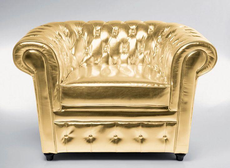 Sillón Oxford Gold - Butacas de Diseño - Muebles de Diseño