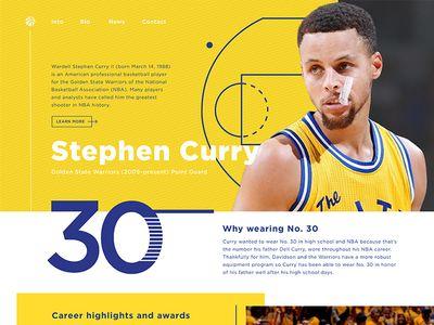 Stephen Curry website