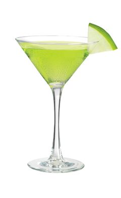 WHAT'S INSIDE: 1 oz.Smirnoff Green Apple  0.5 oz. sour mix 1 oz. apple juice 1 slice(s) apple HOW TO MIX IT: Add Smirnoff Green Apple Flavored Vodka, sour mix and apple juice. Shake with ice and strain into a pre-chilled martini glass. Garnish with an apple slice.