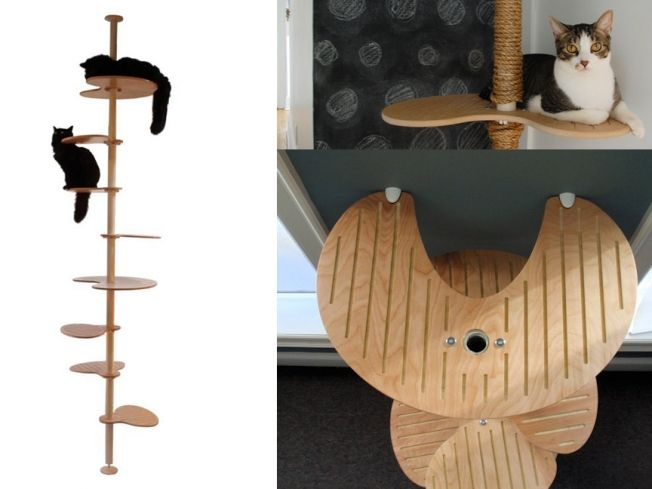trendy cat furniture. spoil your cat in style with one of these seven modern design trees and trendy furniture