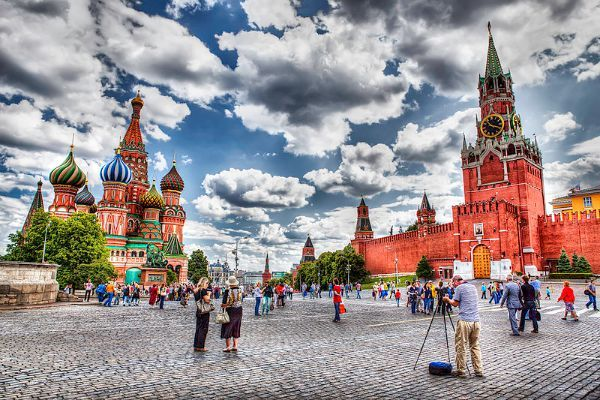 (La Place Rouge, Moscou, Russie) Top 30 des lieux à voir en Europe avant de mourir, selon The Telegraph