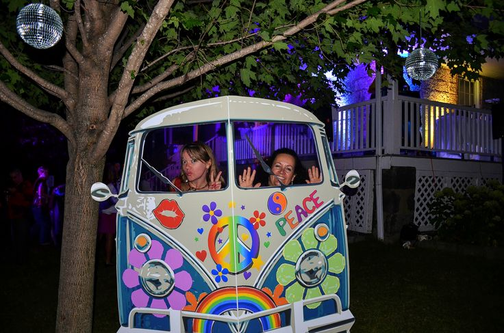 70's night | Soirée années 70 VW Wagon Photo booth | Photomaton VW van Hippies