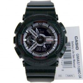 G-Shock Casio GMA-S110MC-3A GMA-S110MC Metalic Black Quartz Sports Watch