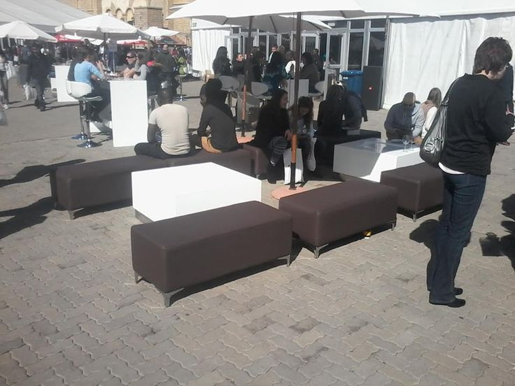 Lounging Area @ The Coffee & Choc Expo