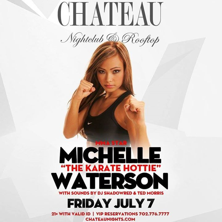 """UFC Fight Week Party with Michelle """"Karate Hottie"""" Waterson - http://fullofevents.com/lasvegas/event/ufc-fight-week-party-with-michelle-karate-hottie-waterson/ #lasvegasevents #UFC Fight Week Party with Michelle """"Karate Hottie"""" Waterson"""