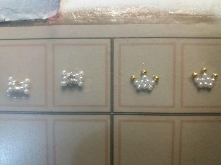Mini joias de unhas Lilly&Milly