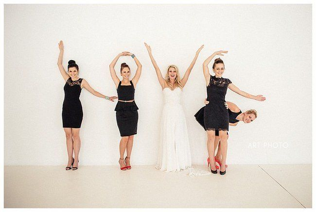 These Super Fun Wedding Photo Ideas and Poses for your Wedding Party will inspire you to plan the most awesome wedding photies, ever!