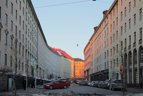 Töölö district. Helsinki, Finland.