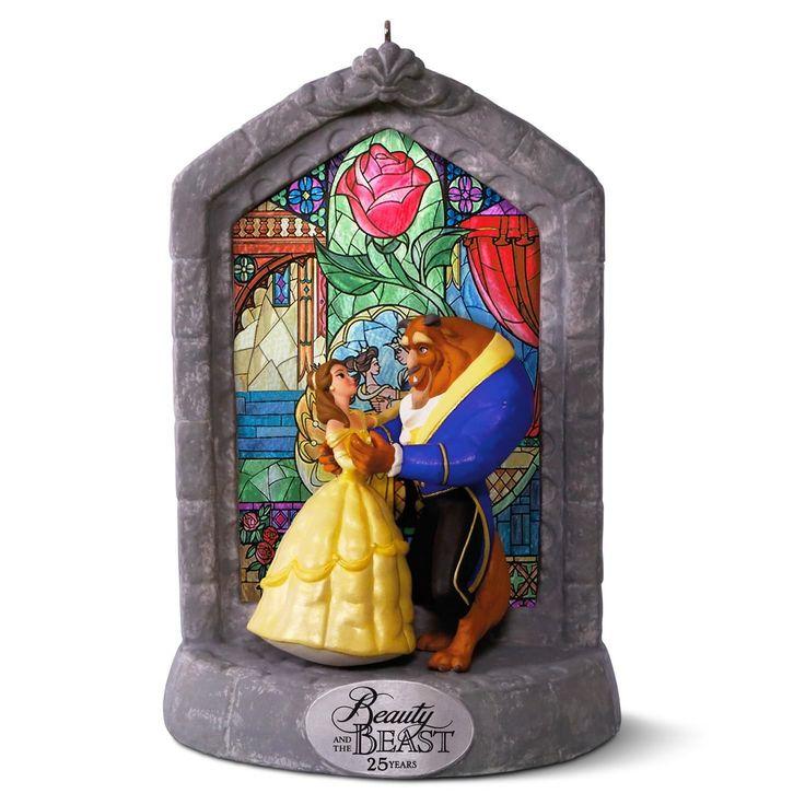 2016 Disney's Beauty and the Beast Hallmark Keepsake Ornament - Hooked on Hallmark Ornaments