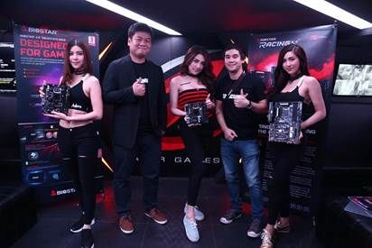BIOSTAR Unleashes New RACING Series Products in Thailand - BIOSTAR Debuts Racing B150GTN motherboard and BIOSTAR SSD G300 to Thai Media and Power Users