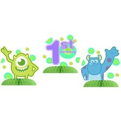 Monsters 1st Birthday Centerpieces (3 Pack)   $5.98   http://www.discountpartysupplies.com/1st-birthday-party-supplies/monsters-1st-birthday-supplies/monsters-1st-birthday-centerpieces.html