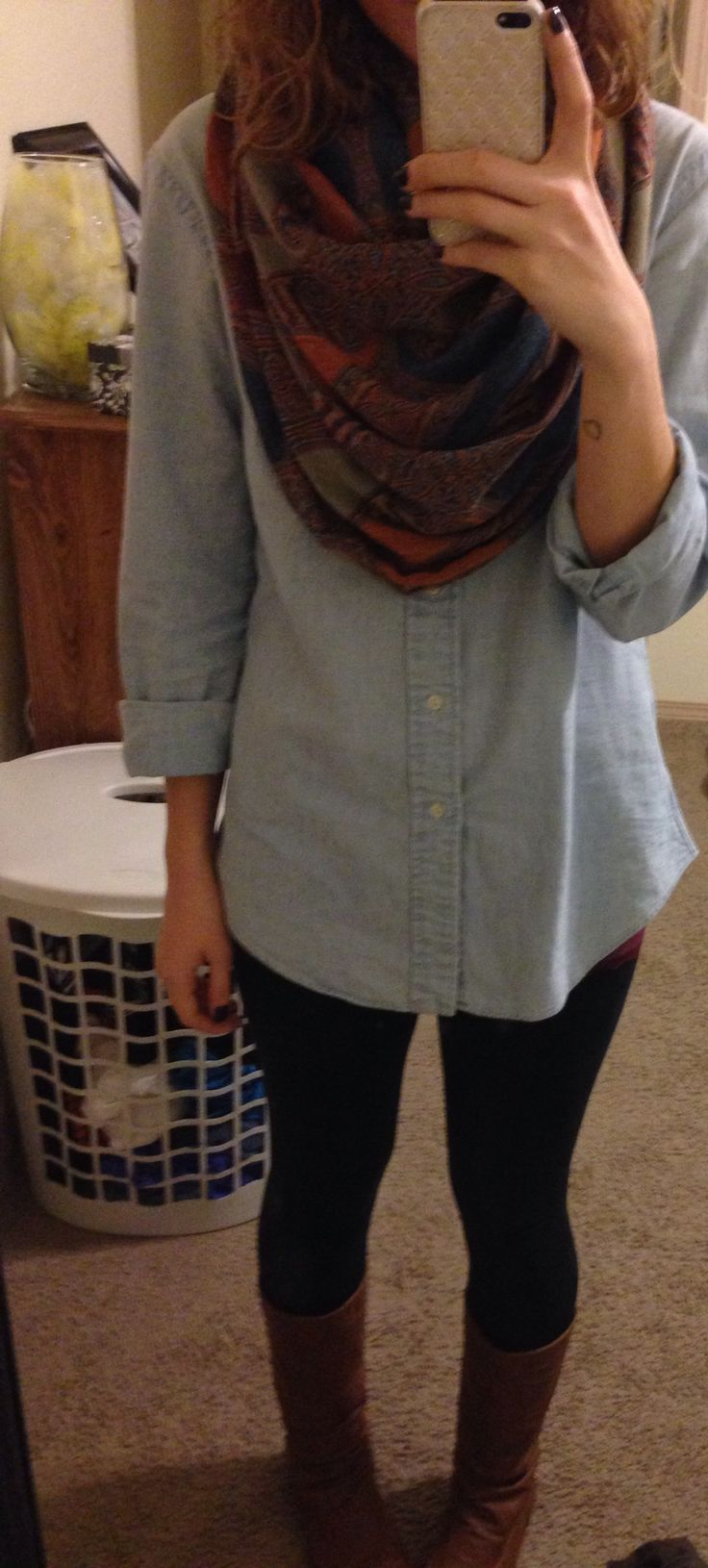 Teaching outfit for a lazy day