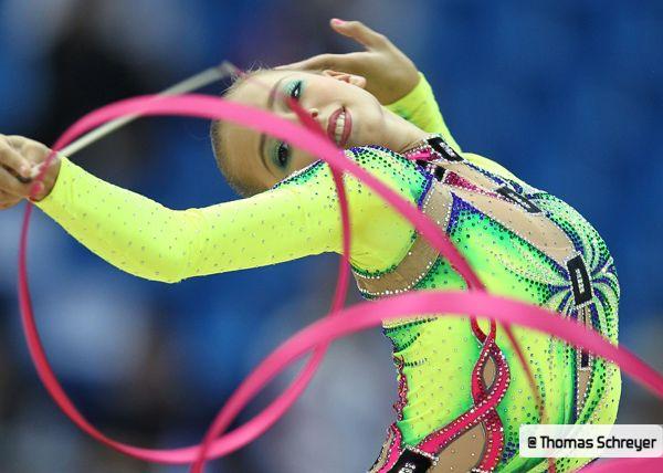 Daria Dmitrieva rhythmic gymnastics