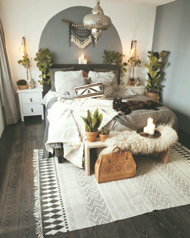 Minimalist Boho Bedroom Interior Design Ideas Home Decorating Inspiration Moercar Bedroom Decorating Home Decor Bedroom Oriental Bedroom Bedroom Design Minimalist boho bedroom ideas