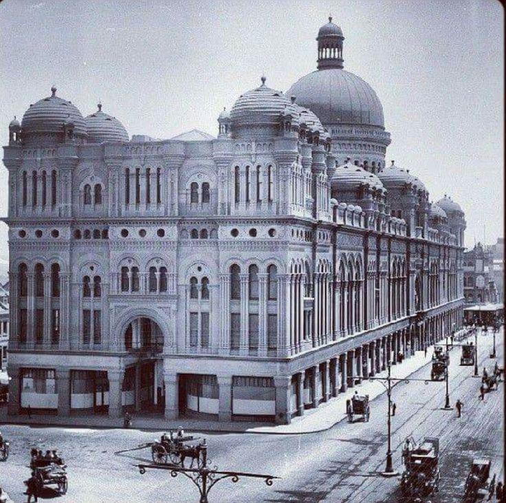 Queen Victoria Building in Sydney in 1900.