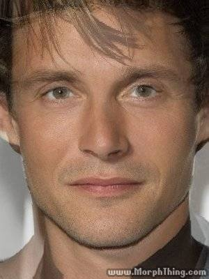 Mads Mikkelsen & Hugh Dancy's faces  morphed together to make a new person. Yum<---- can we avoid the word yum when talking about people in this fandom pease