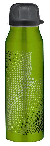 alfi 5337.699.050 Isolier-Trinkflasche isoBottle, 0,5 L, edelstahl, Wave grün - http://geschirrkaufen.online/alfi/wave-gruen-alfi-5337-696-050-isolier-trinkflasche
