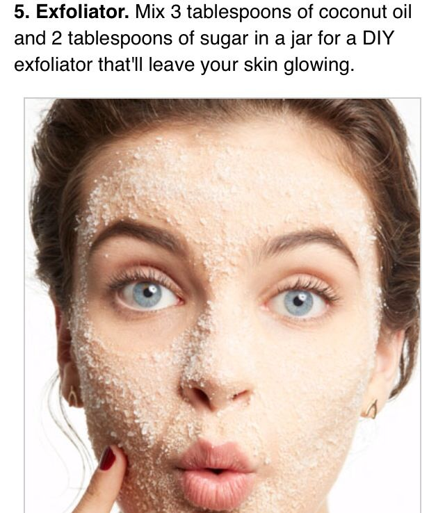 Exfoliate your skin. All natural