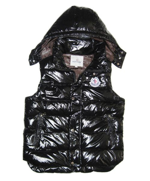 Moncler Lovers Of Men Vest Sleeveless Single-Breasted Black Sale