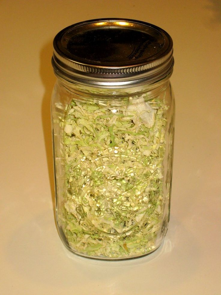Dehydrated Cabbage for soups or quick side dish