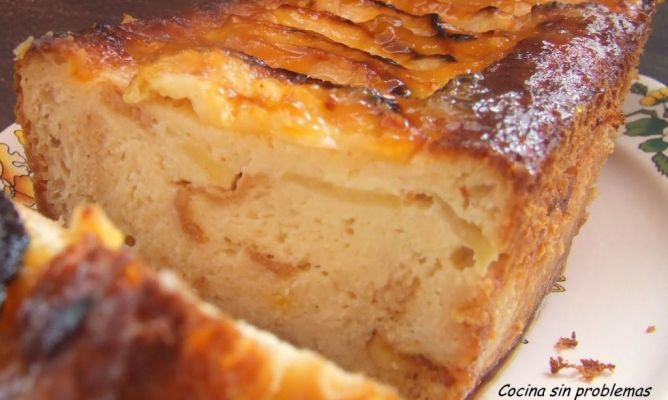Pudding de manzana
