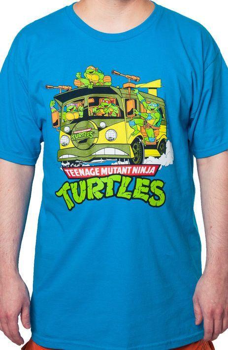 Ninja Turtle Van T-Shirt - TMNT T-Shirt