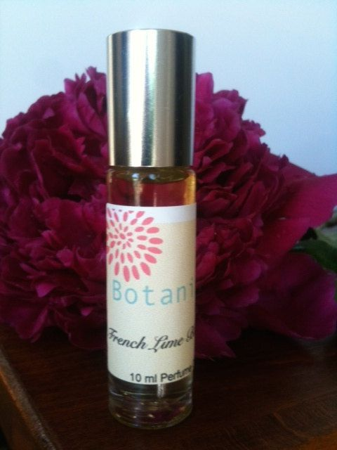 FRENCH LIME BLOSSOM Perfume OilLime Blossoms by BotanikaBeauty, $9.95