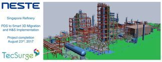 TecSurge migrates plant model and drawing data from PDS to SmartPlant 3D with high quality through automation