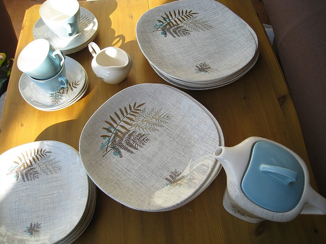 Meakin Dinner Service, Rock Fern Pattern