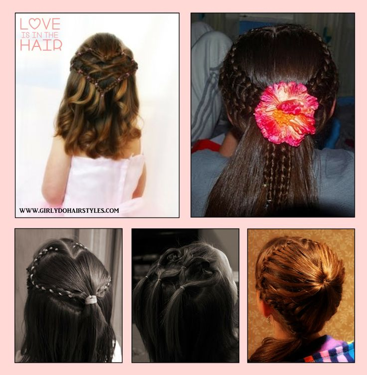 586 best girly do hairstyles images on pinterest hair treatments girly do hairstyles by jenn valentines day sharing the love urmus Images