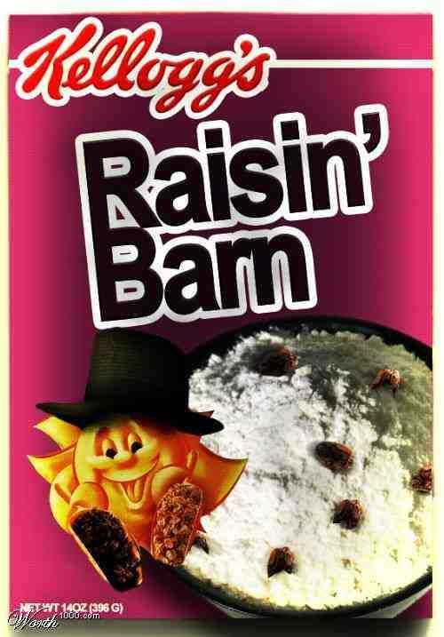 Funny Breakfast Cereal Names funny