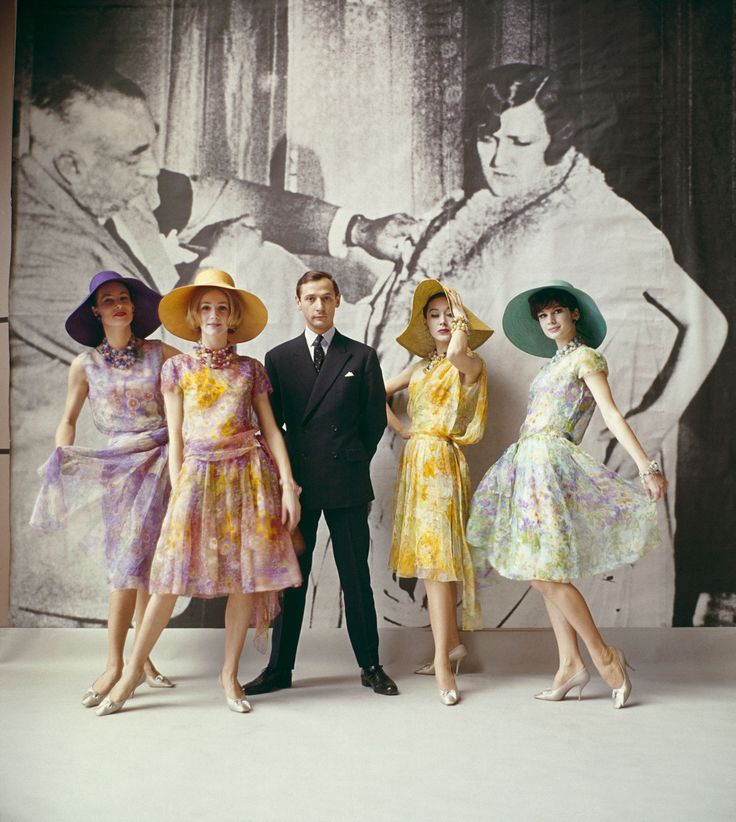 Marc Bohan's first collection for Christian Dior, 1961