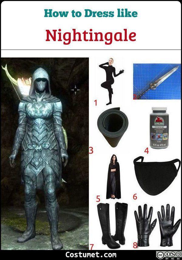 Skyrim Se Halloween 2020 Nightingale (Skyrim) Costume for Cosplay & Halloween 2020 in 2020