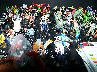 Heroclix Marvel Lot 100 figures with cards *FREE US PRIORITY*