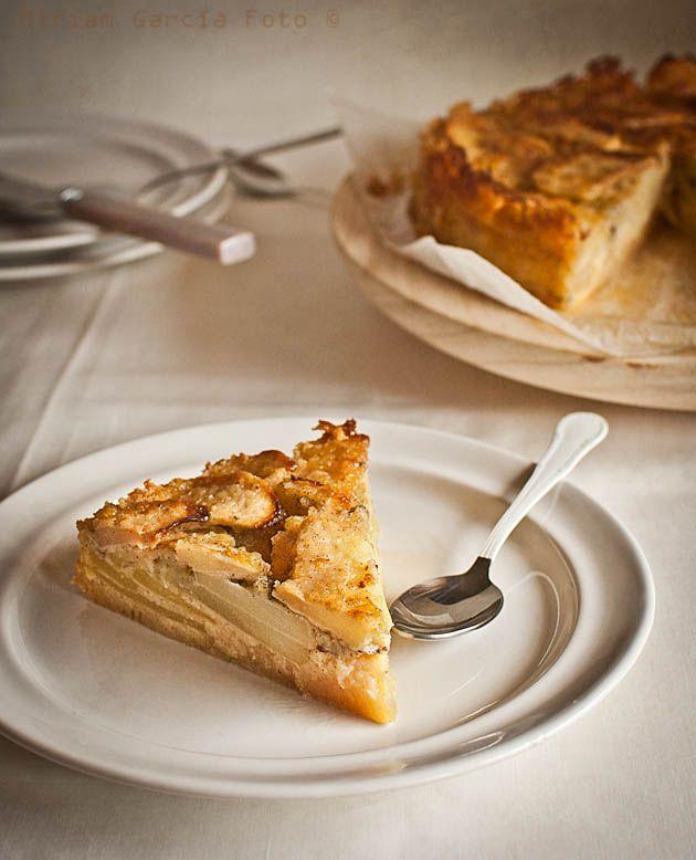 Pastel de manzana fácil italiano | Recetas con fotos paso a paso El invitado de invierno
