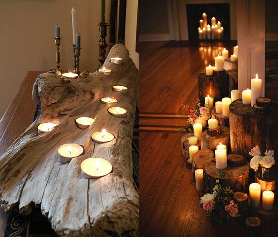 Kerzen Dekoideen Fur Mehr Romantik In Den Kalten Wintertagen