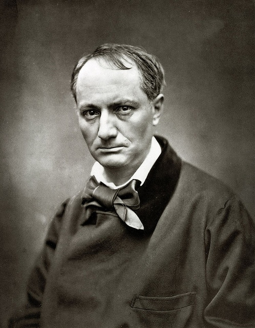Charles Baudelaire photographed by Nadar (Gaspard-Félix Tournachon). Charles Pierre Baudelaire (French: [ʃaʁl bodlɛʁ]; April 9, 1821 – August 31, 1867) was a French poet who also produced notable work as an essayist, art critic, and pioneering translator of Edgar Allan Poe.