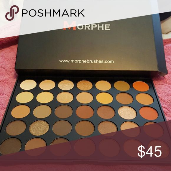 Morphe 350 palette Morphe's highly sought after 350 palette.?? I bought this from the Morphe website. Authentic ?? new never used?? just took it out of the box to take the picture. Make me an offer. If you don't like the price then carry on. Price is not firm willing to lower or trade.  OFFERS? NO LOW BALLING Morphe Makeup Eyeshadow