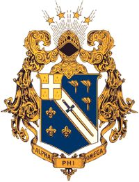 Alpha Phi Omega Service Fraternity crest - I am #815 of Delta Chapter at Auburn University. Initiated in 1969.