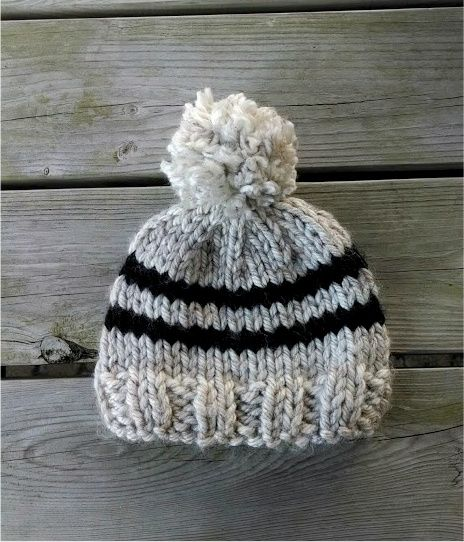 17 best knit happens images on pinterest knitting knitting adventures in stitching free knitting pattern toddler rugby hat dt1010fo