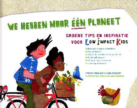 Inspirerend boek vol tips om je eigen ecologische voetafdruk te verkleinen